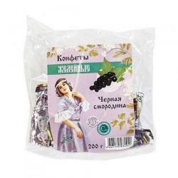 Конфеты желейные, Лафиторе 200 г Черная смородина с изомальтом и стевией глазированные