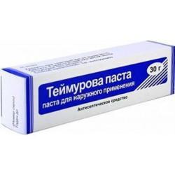 Теймурова паста, паста д/наружн. прим. 30 г №1