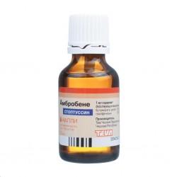 Амбробене СТОПТУССИН, капли д/приема внутрь 4 мг+100 мг/мл 25 мл №1 флакон-капельница