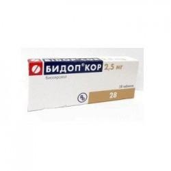 БИДОП КОР, табл. 2.5 мг №28