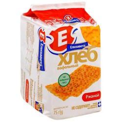 Хлеб вафельный, Елизавета 75 г ржаной