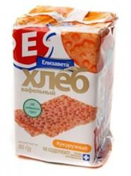 Хлеб вафельный, Елизавета 80 г кукурузный